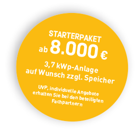 Starterpaket ab 8.000€